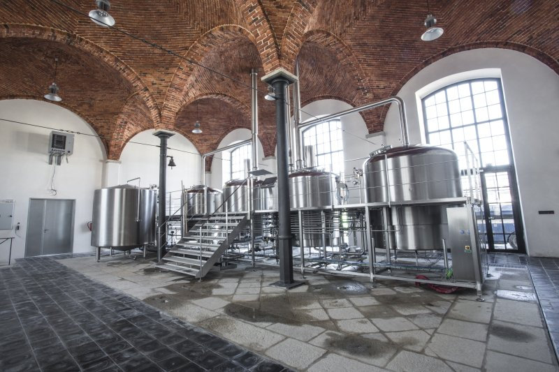 Small industrial breweries